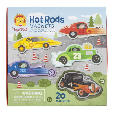 Tiger Tribe - Hot Rod Magnets