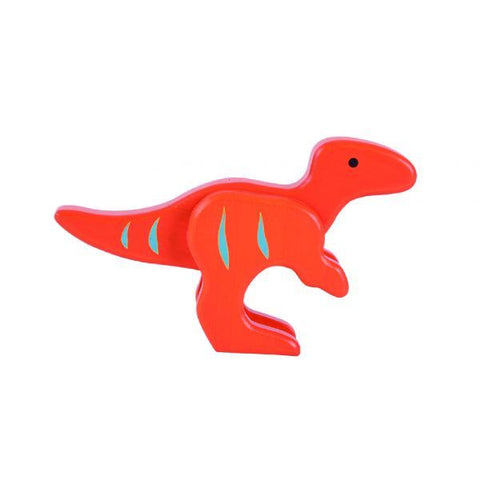 EverEarth - Bamboo Velociraptor Orange Dino