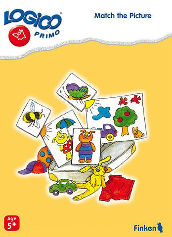 Match the Pictures, LOGICO Primo Learning Cards