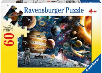 Rburg Outer Space Puzzle 60 pc