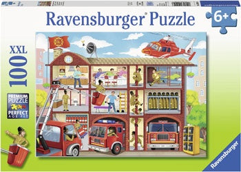 Rburg - Firehouse Frenzy Puzzle 100pc