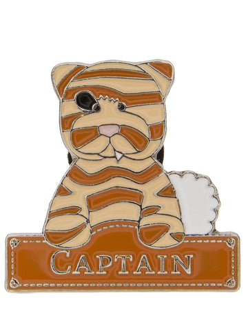 Charlie Bears - Captain badge