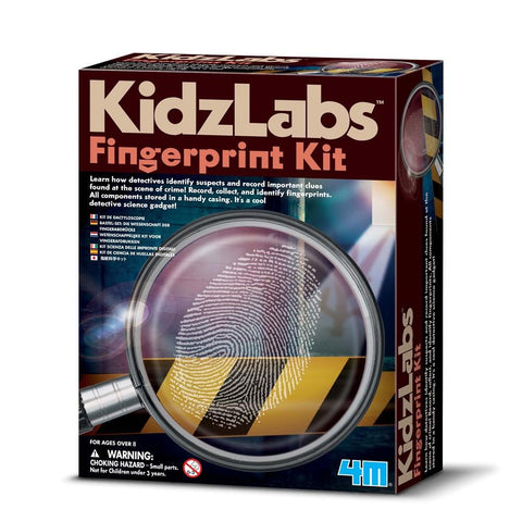 4M - DETECTIVE FINGERPRINT KIT