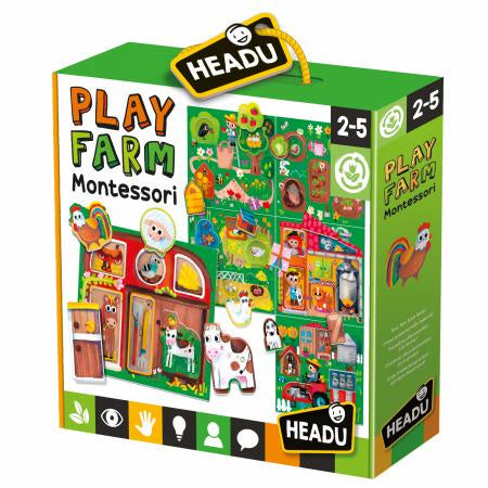 Headu - Baby Play Farm Montessori