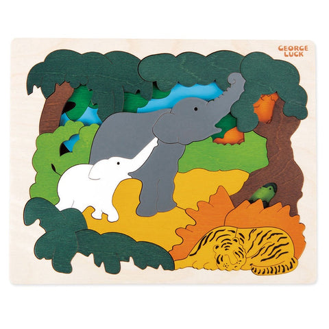 George Luck Asian Animals Puzzle