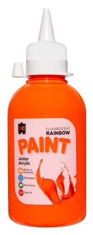 Fluoro Orange Paint 250 Ml