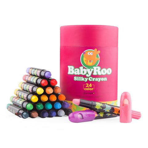 Silky washable crayon  x 6
