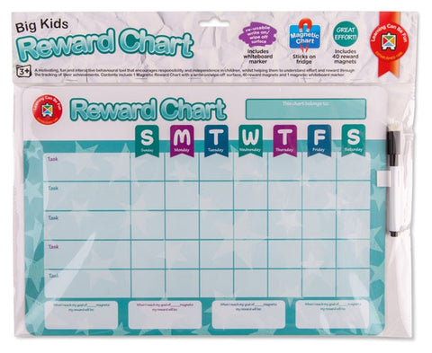 Big Kids Reward Chart