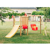 PLUM® TODDLER TOWER WOODEN CLIMBING FRAME