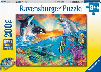 Ravensburger - Ocean Wildlife 200 pieces