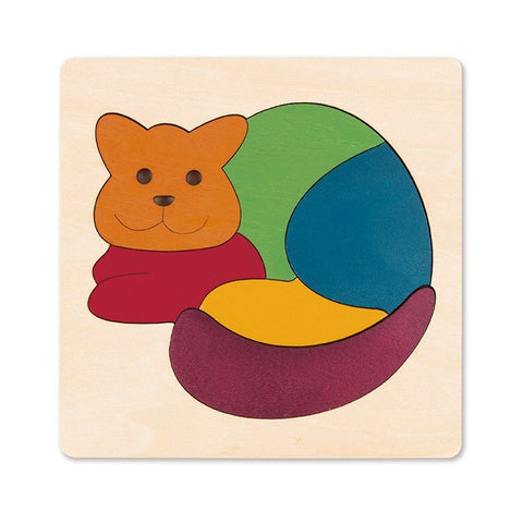 George Luck Rainbow Cat Puzzle