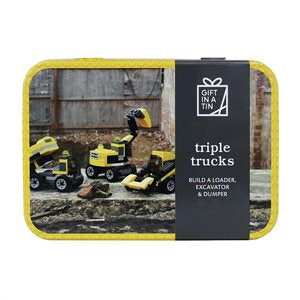 Apples to Pears Triple Trucks in a Tin