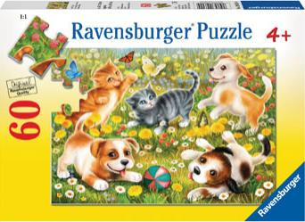 Cats & Dogs 60pc Puzzle