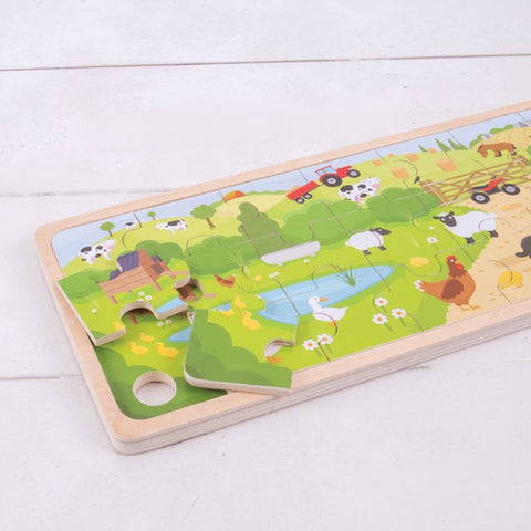 Bigjigs - On The Farm Puzzle