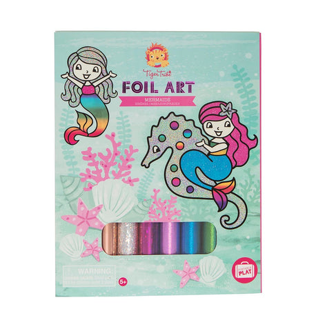 Tiger Tribe - Foil Art - Mermaids