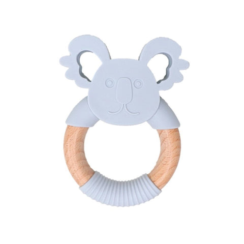 Jellystone Koala Teether Deep Grey