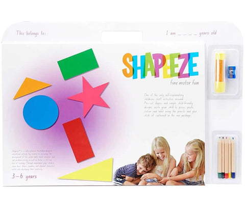 Shapeeze A3 activity pad 3-6 years