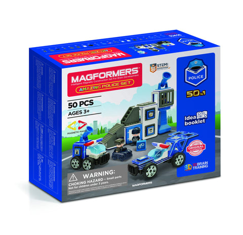 Magformers - Amazing Police Set