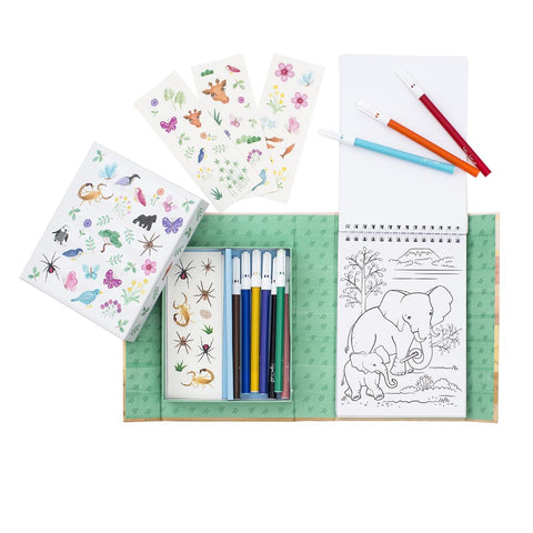 Tiger Tribe - Colouring Set - Animal All Stars