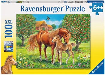 Ravensburger - Horses in the Field Puzzle 100 pieces