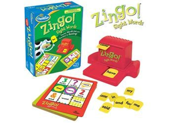Zingo Sight Word Games