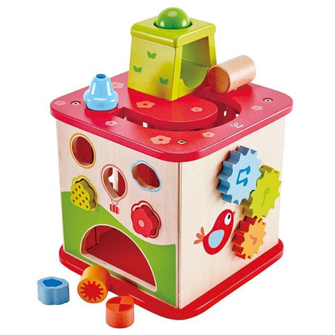 Hape Pepe & Friends Activity Cube