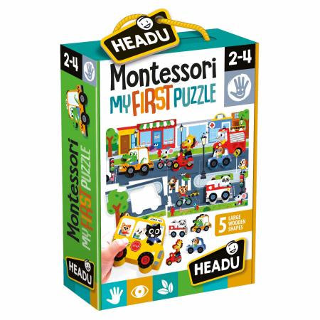Headu - Montesseri First Puzzle The City