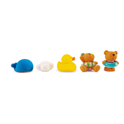Hape Little Splashers Teddy and Friends Bath Squirts