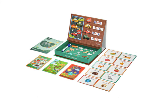 LANGUAGE LEARNING CASE - Letter&Word Building