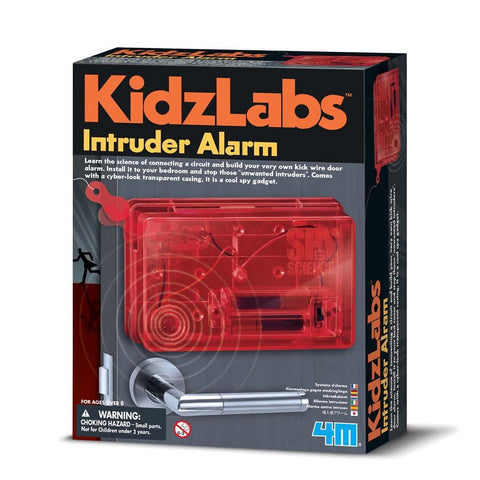 4M - SPY SCIENCE INTRUDER ALARM