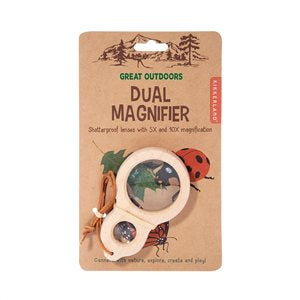Kikkerland Great Outdoors - Dual Magnifier