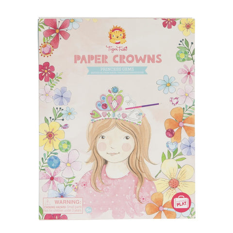 Tiger Tribe - Paper Crowns - Princess Gems