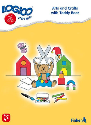 Arts and crafts with Teddy bear, LOGICO Primo Learning Cards