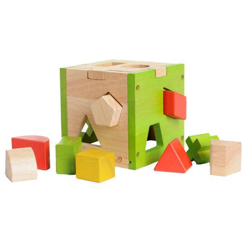 EverEarth - Shape Sorter Cube