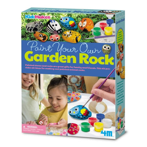 4M - PAINT YOUR OWN GARDEN ROCK