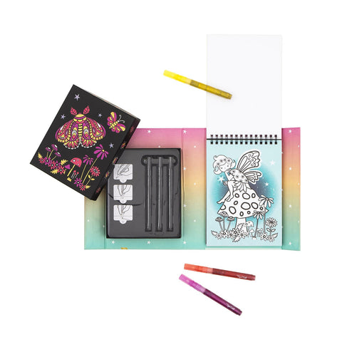 Tiger Tribe - Glitter Colouring Set - Night Garden