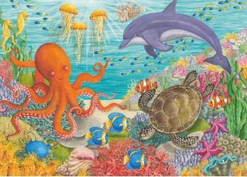 Rburg - Ocean Friends 35pc Puzzle