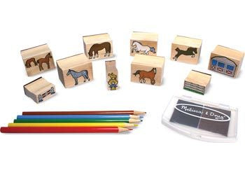 M&D - Horses Stamp Set