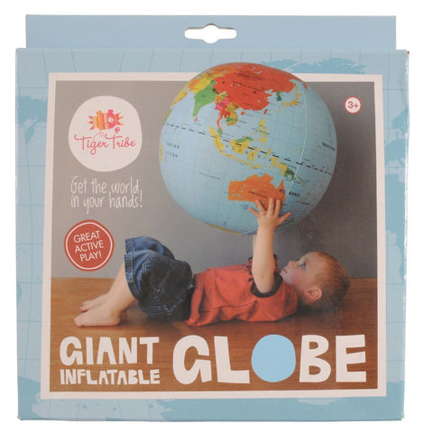 Tiger Tribe - Large World Globe - 50cm