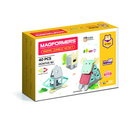 Magformers - My First Animal Jumble 40 Set