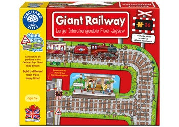 Orchard Toys - Giant Railway Jigsaw