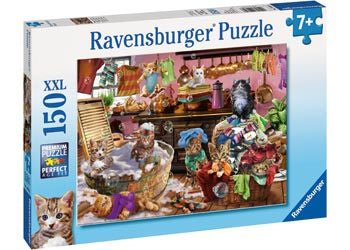 Ravensburger - Cat in the Kitchen Puzzle 150pc
