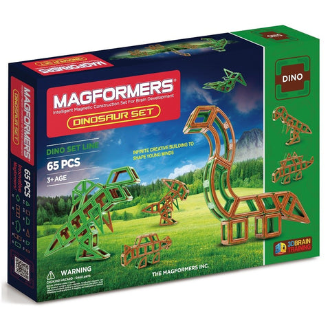 Magformers Dinosaurs Set 65pc