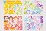 MierEdu Puzzle & Draw Magnetic Kit - Fairies