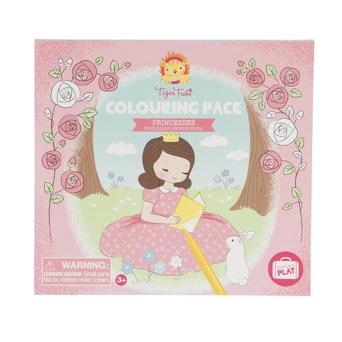 Tiger Tribe - Colouring Pack Princesses