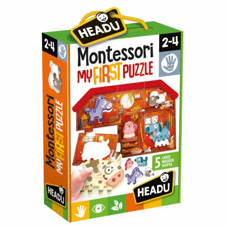 Headu - Montessori My First Puzzle The Farm