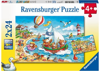 Ravensburger Seaside Holiday 2 x 24pc