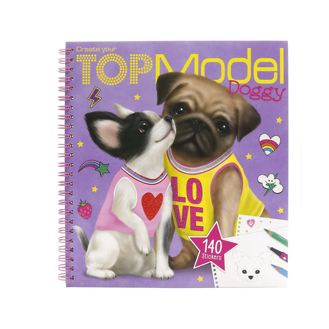 Top Model – Doggy Colouring Book