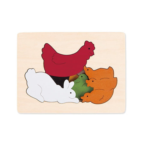 George Luck Chickens & Friends Puzzle