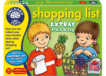 Orchard Toys - Shopping List Booster Fruit & Veg